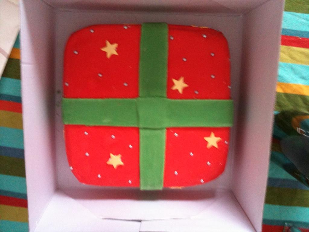 christmas cake #2